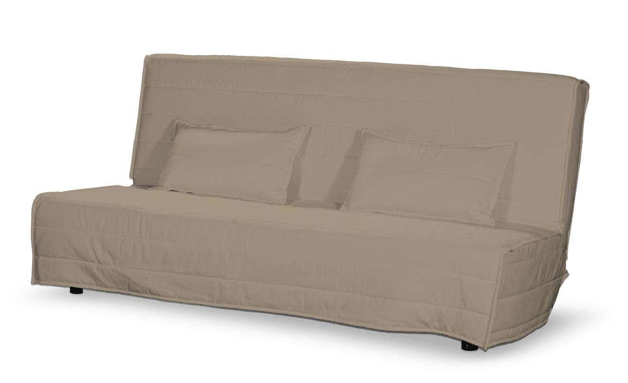 Pokrowiec na sofę Beddinge długi i 2 poszewki Sofa Beddinge w kolekcji Cotton Panama, tkanina: 702-28