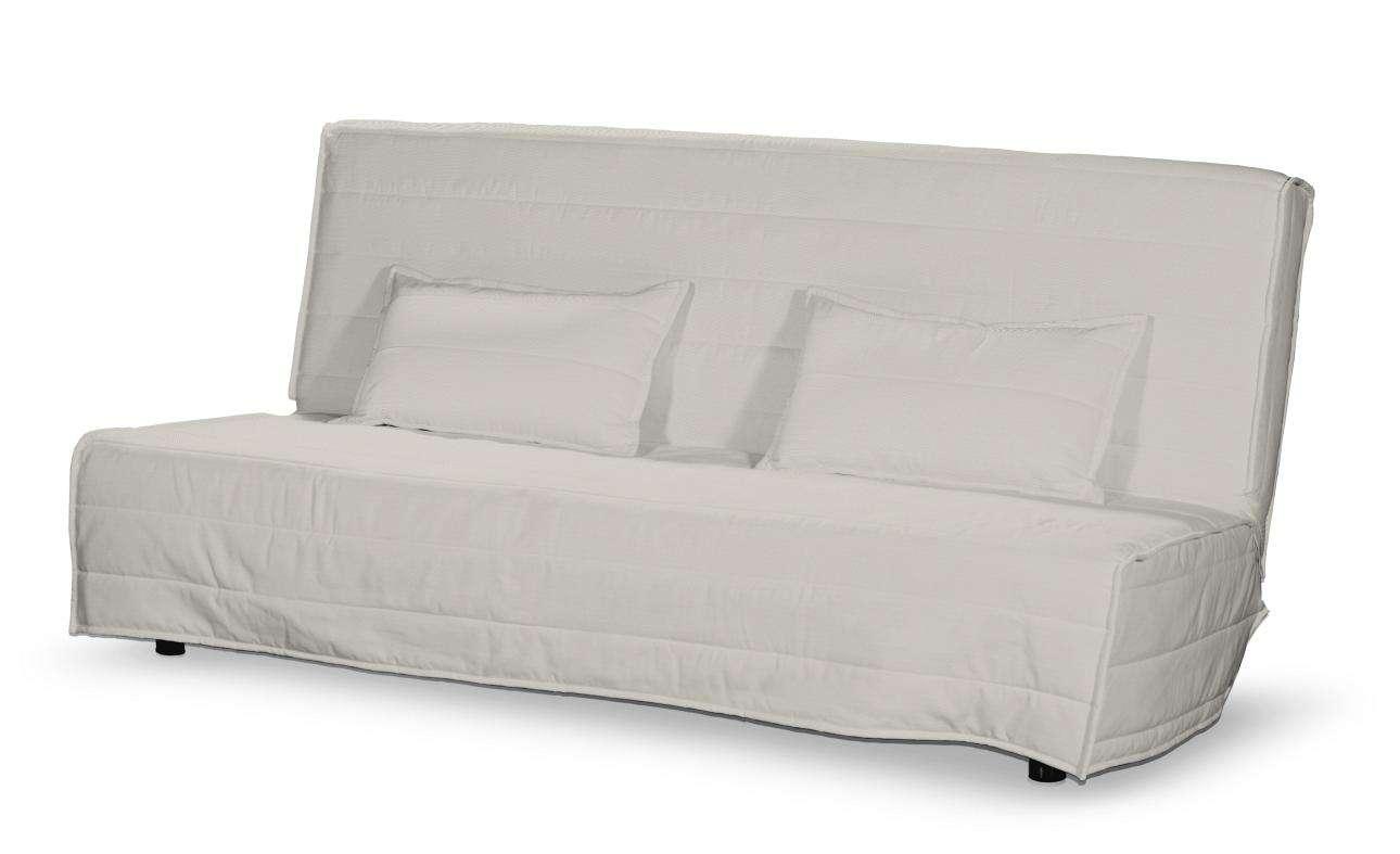 Beddinge quiltet betræk til sovesofa, lang, med 2 quiltede pudebetræk fra kollektionen Cotton Panama, Stof: 702-31
