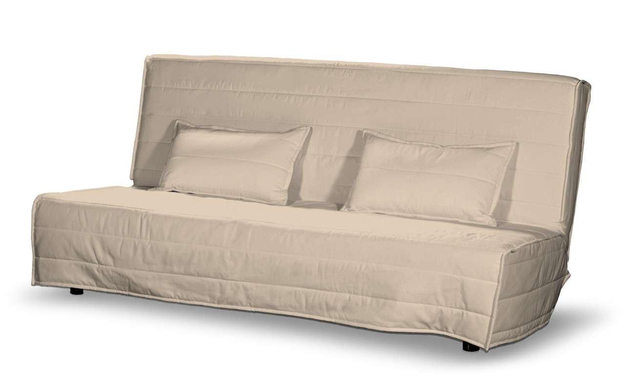 Beddinge quiltet betræk til sovesofa, lang, med 2 quiltede pudebetræk fra kollektionen Living, Stof: 160-61