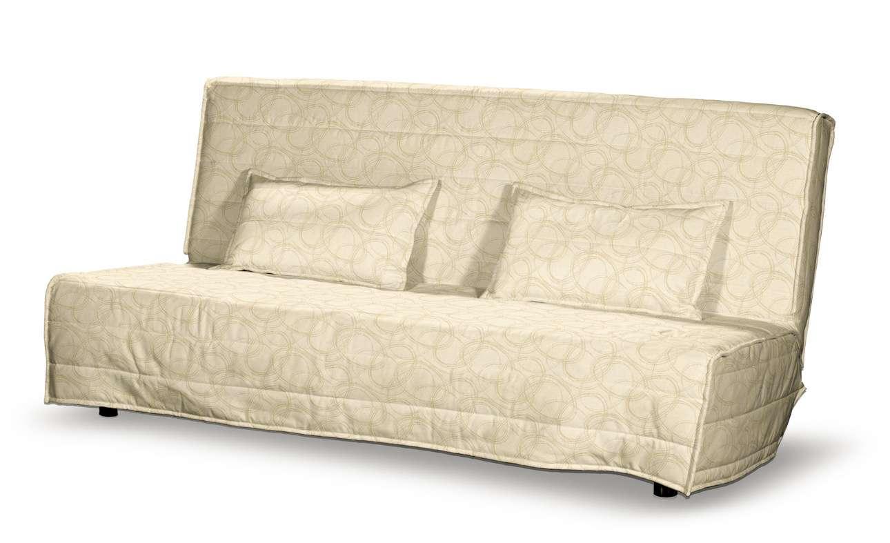 Beddinge quiltet betræk til sovesofa, lang, med 2 quiltede pudebetræk fra kollektionen Living, Stof: 161-81