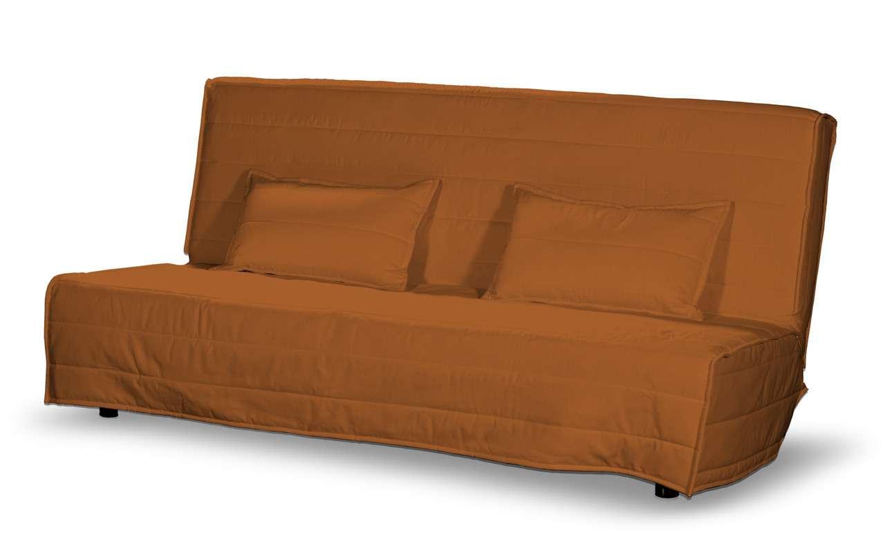 Beddinge quiltet betræk til sovesofa, lang, med 2 quiltede pudebetræk fra kollektionen Cotton Panama, Stof: 702-42