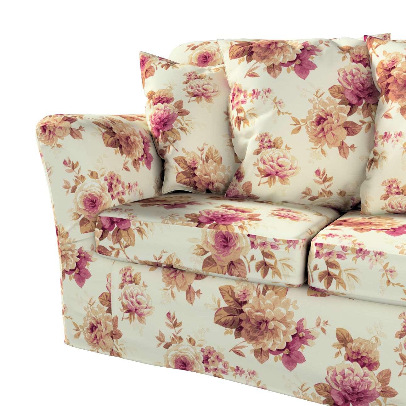 Pokrowiec na sofę Tomelilla 3-osobową nierozkładaną w kolekcji Londres, tkanina: 141-06