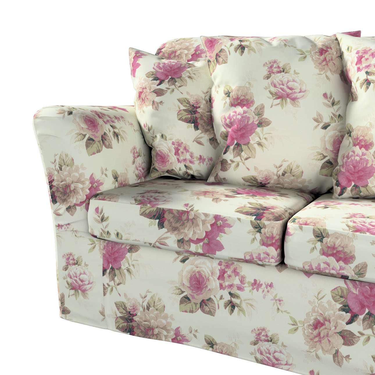 Pokrowiec na sofę Tomelilla 3-osobową nierozkładaną w kolekcji Londres, tkanina: 141-07