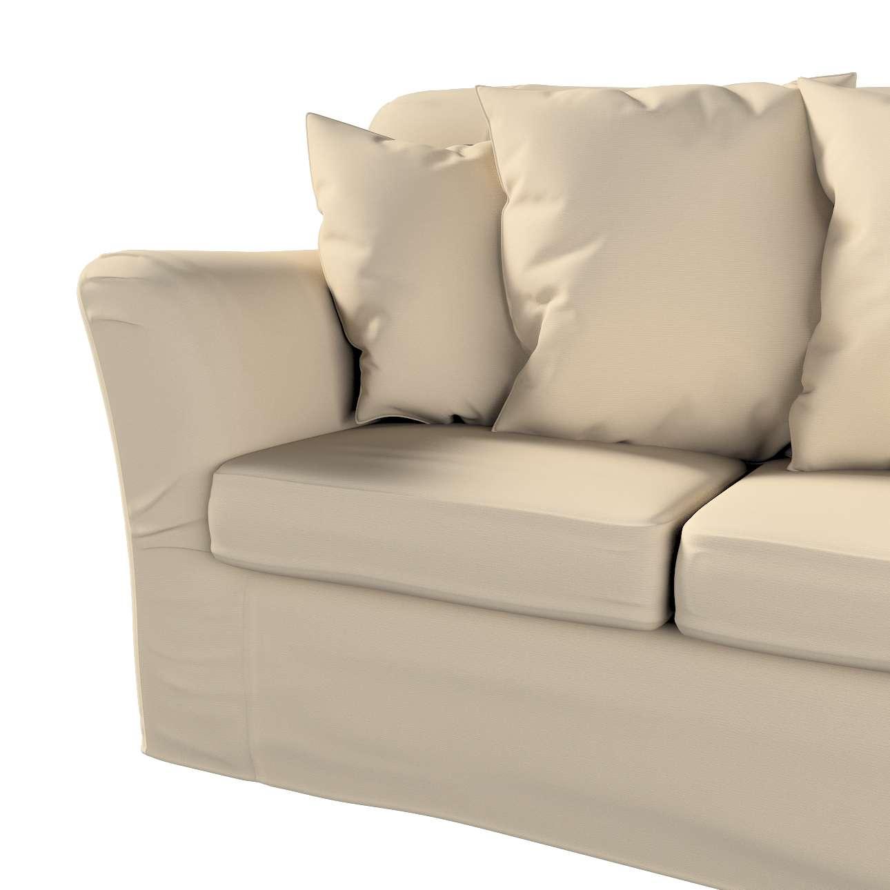Pokrowiec na sofę Tomelilla 3-osobową nierozkładaną w kolekcji Cotton Panama, tkanina: 702-01