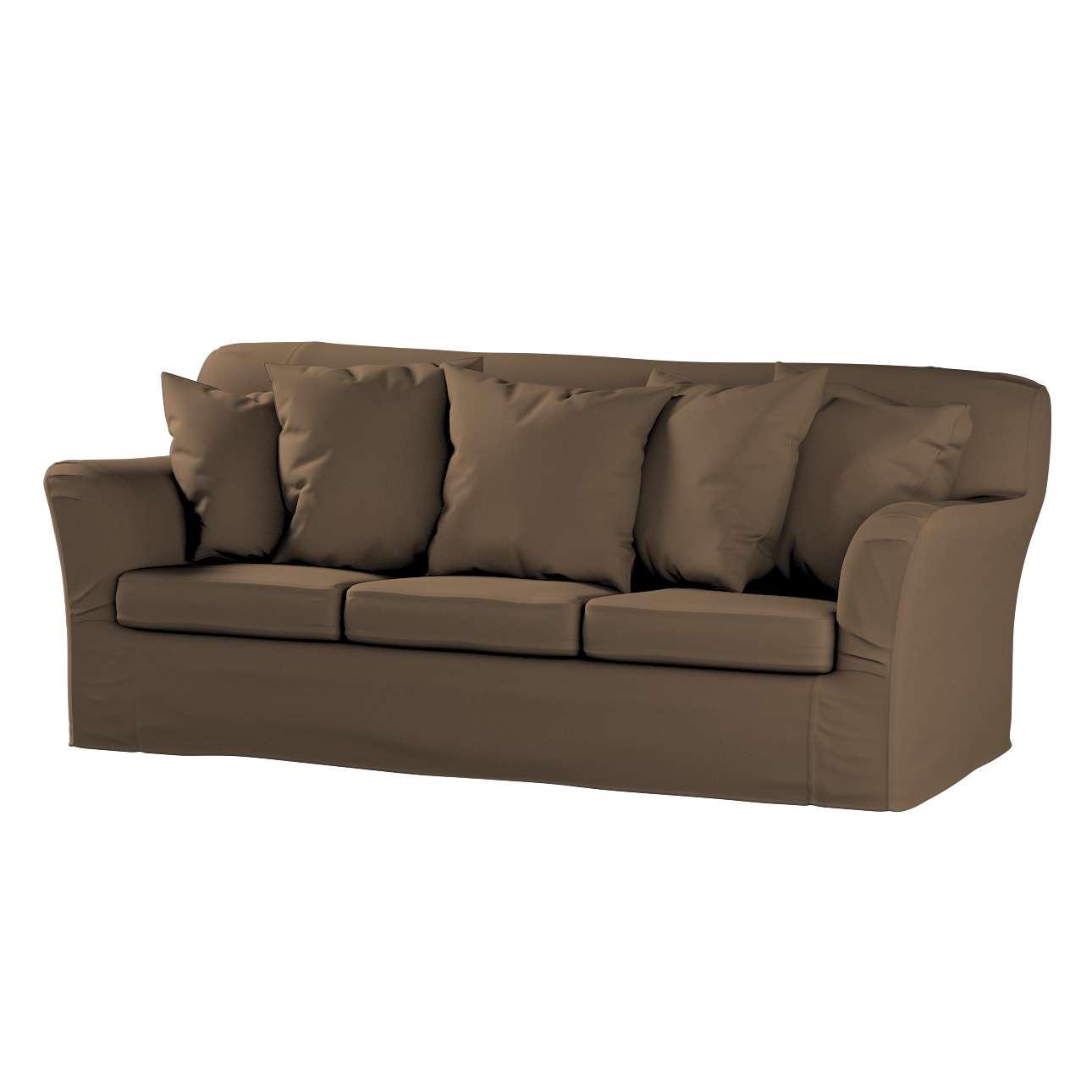 Tomelilla 3-Sitzer Sofabezug nicht ausklappbar Sofahusse, Tomelilla 3-Sitzer von der Kollektion Cotton Panama, Stoff: 702-02