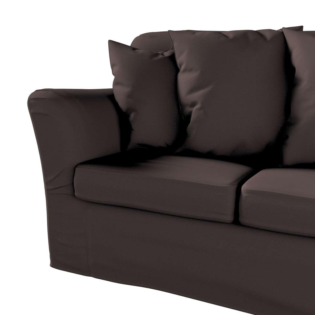 Pokrowiec na sofę Tomelilla 3-osobową nierozkładaną w kolekcji Cotton Panama, tkanina: 702-03