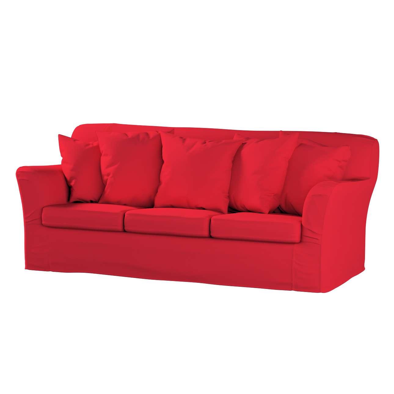 Tomelilla 3-Sitzer Sofabezug nicht ausklappbar Sofahusse, Tomelilla 3-Sitzer von der Kollektion Cotton Panama, Stoff: 702-04
