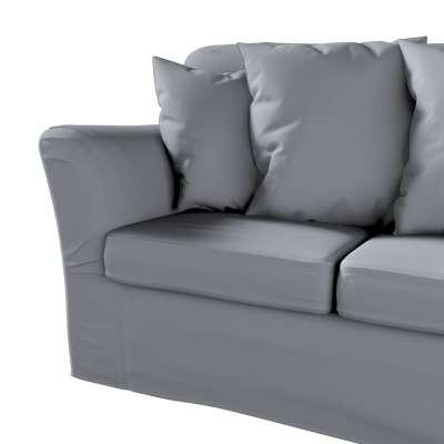 Pokrowiec na sofę Tomelilla 3-osobową nierozkładaną w kolekcji Cotton Panama, tkanina: 702-07