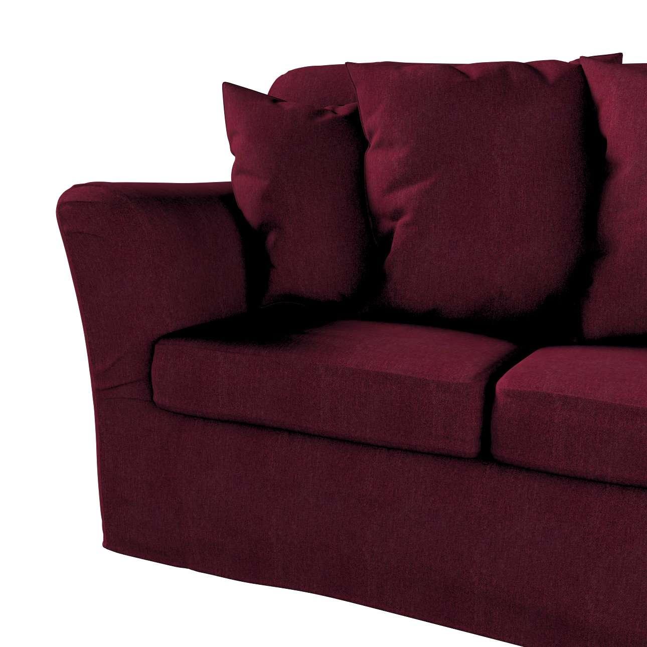 Pokrowiec na sofę Tomelilla 3-osobową nierozkładaną w kolekcji Chenille, tkanina: 702-19