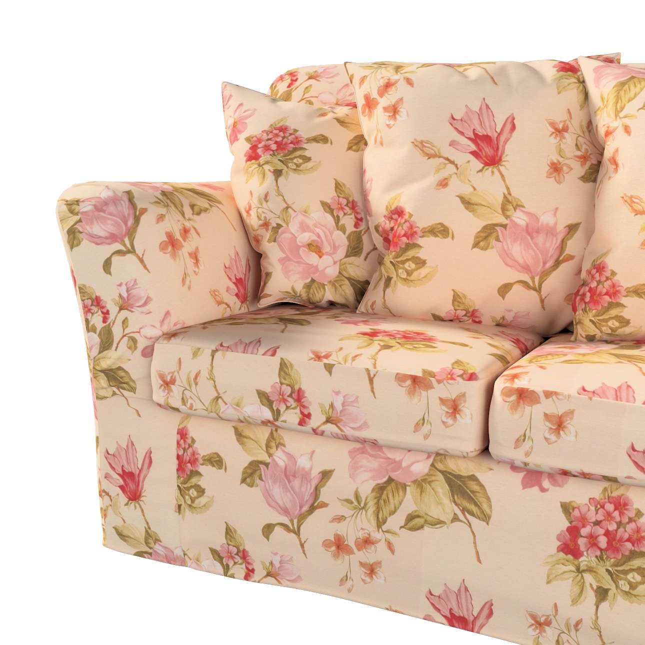 Pokrowiec na sofę Tomelilla 3-osobową nierozkładaną w kolekcji Londres, tkanina: 123-05