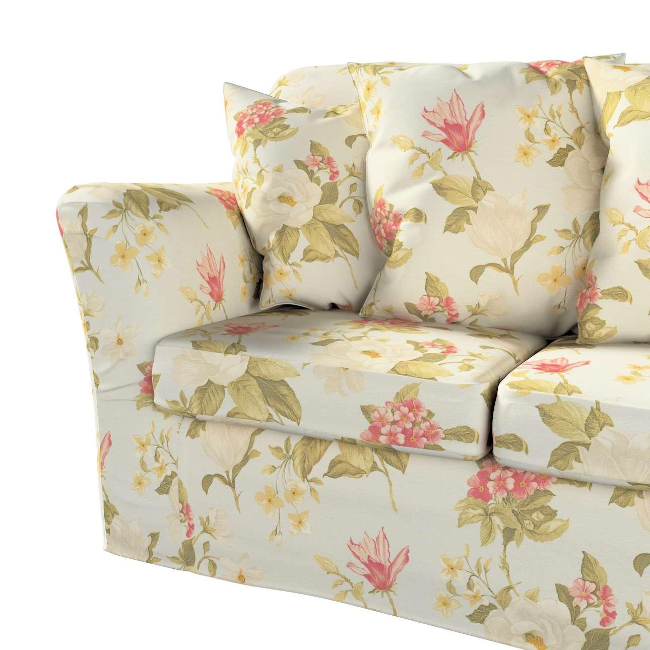 Pokrowiec na sofę Tomelilla 3-osobową nierozkładaną w kolekcji Londres, tkanina: 123-65