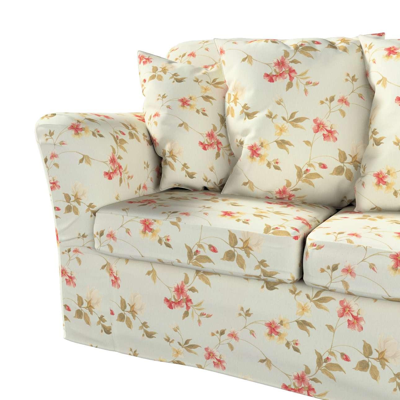 Pokrowiec na sofę Tomelilla 3-osobową nierozkładaną w kolekcji Londres, tkanina: 124-65