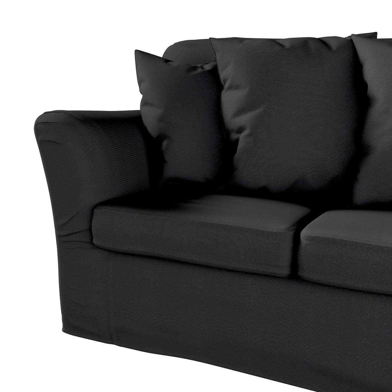 Pokrowiec na sofę Tomelilla 3-osobową nierozkładaną w kolekcji Etna, tkanina: 705-00