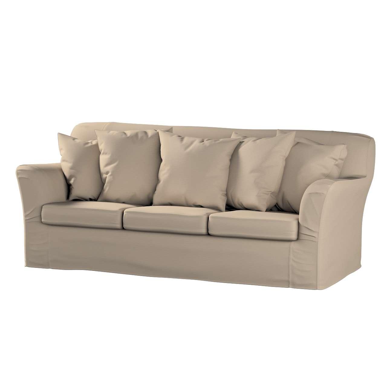 Tomelilla betræk 3 sæder inkl. 5 pudebetræk fra kollektionen Cotton Panama, Stof: 702-28