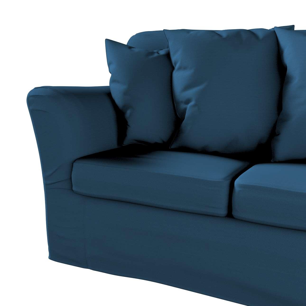 Pokrowiec na sofę Tomelilla 3-osobową nierozkładaną w kolekcji Cotton Panama, tkanina: 702-30
