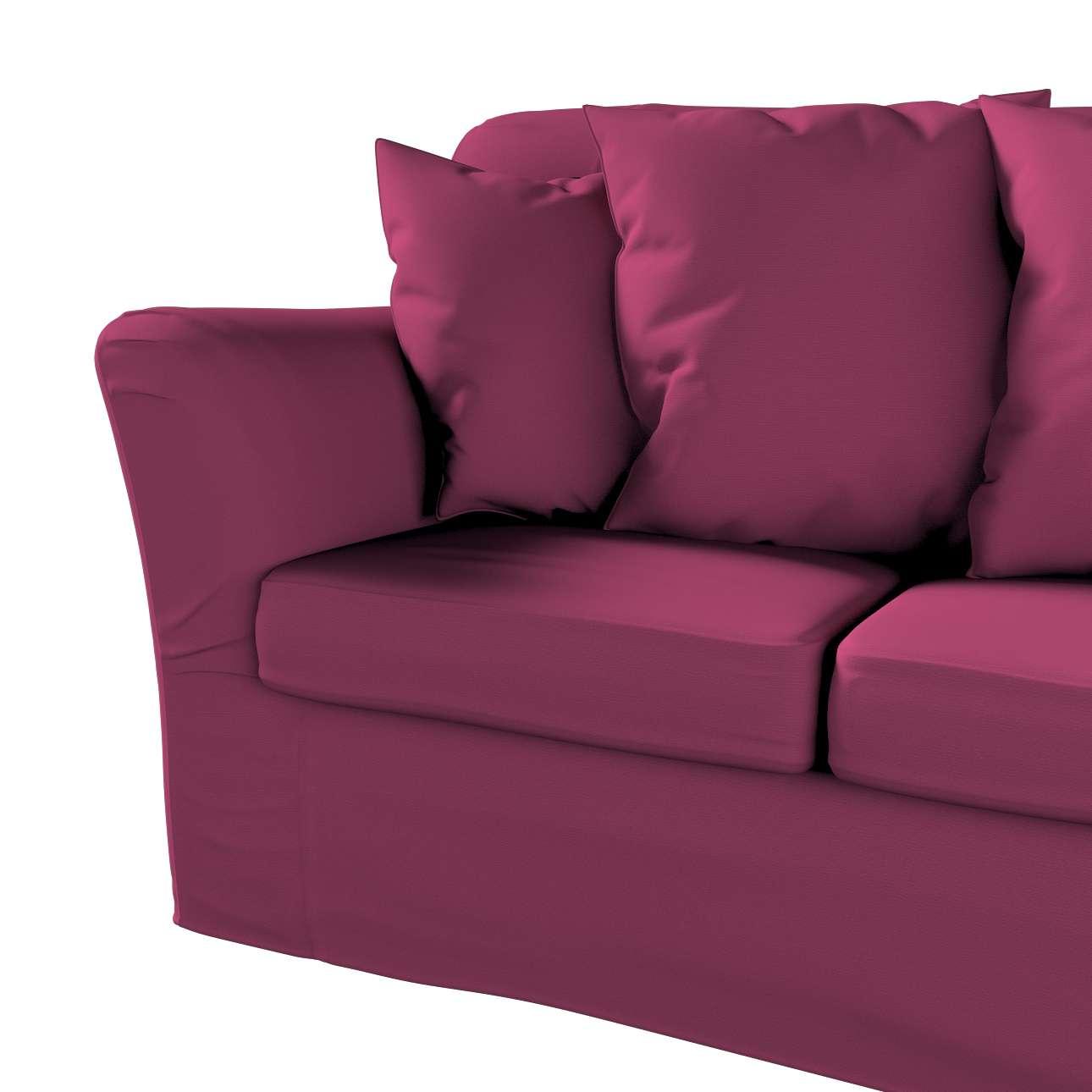 Pokrowiec na sofę Tomelilla 3-osobową nierozkładaną w kolekcji Cotton Panama, tkanina: 702-32