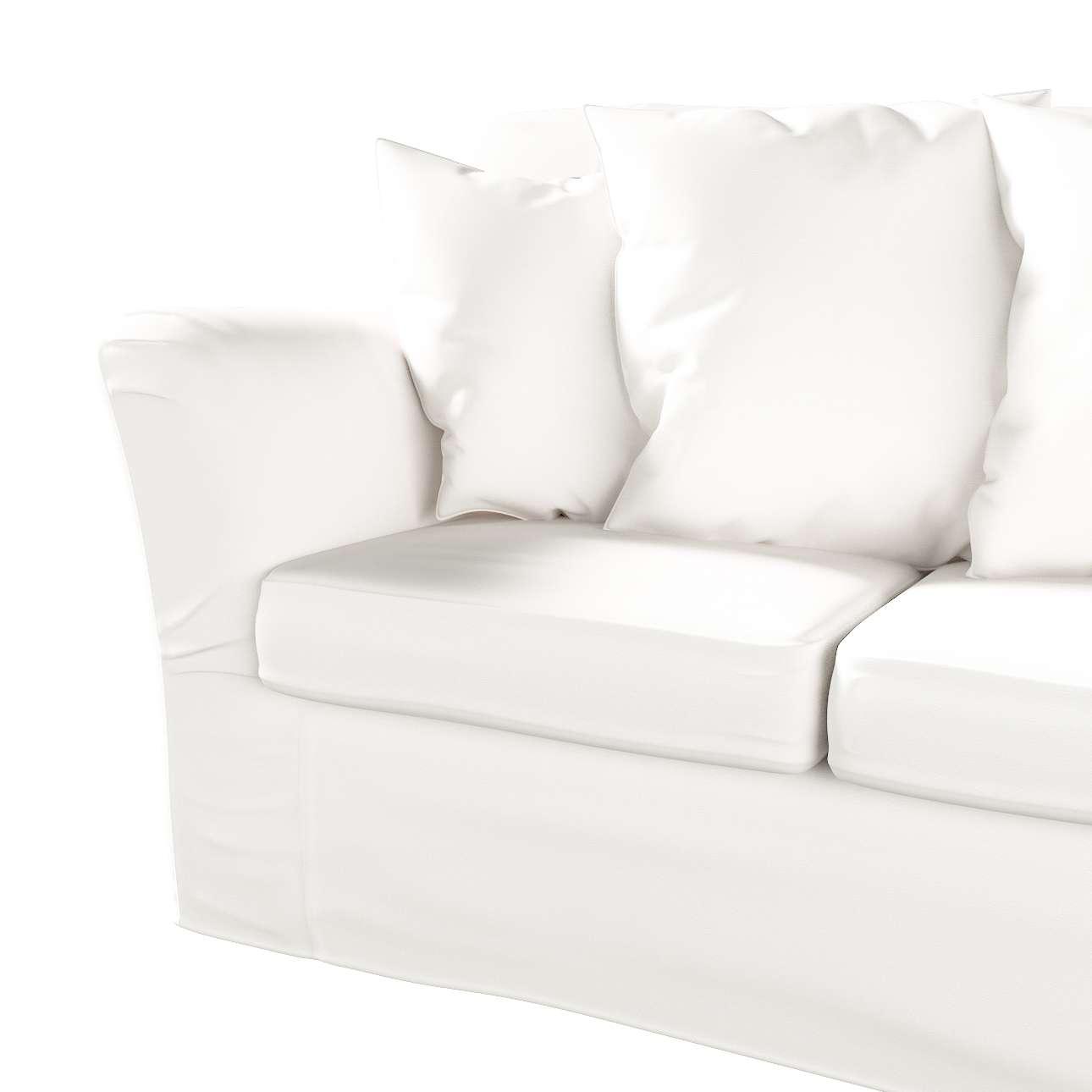 Pokrowiec na sofę Tomelilla 3-osobową nierozkładaną w kolekcji Cotton Panama, tkanina: 702-34