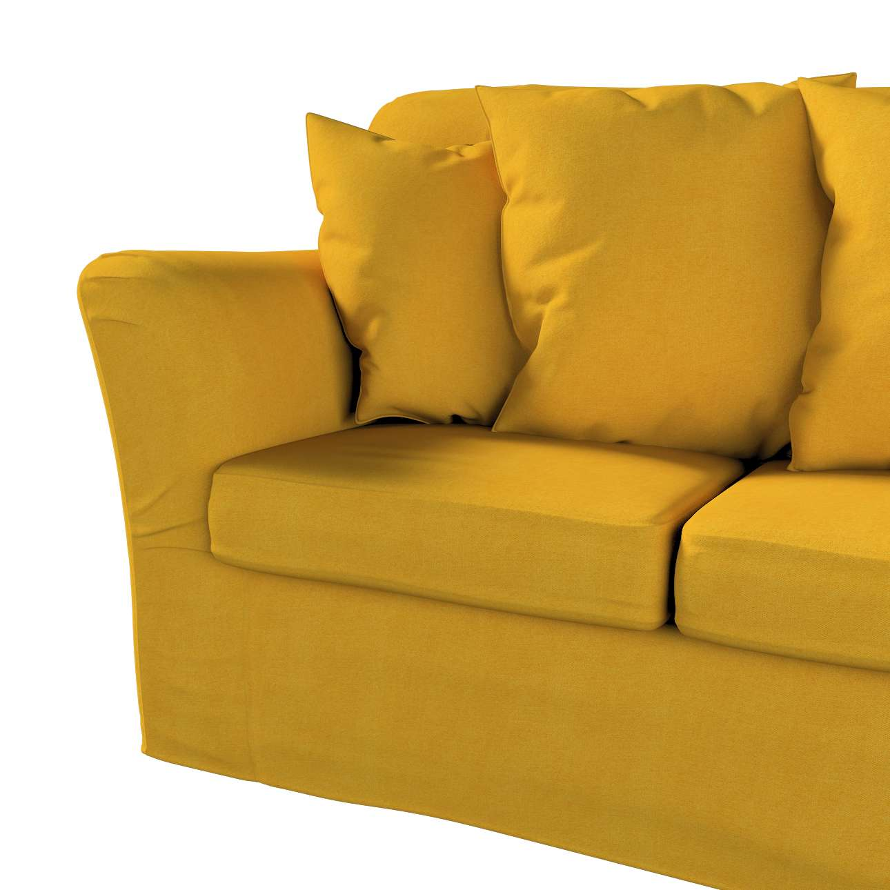 Pokrowiec na sofę Tomelilla 3-osobową nierozkładaną w kolekcji Etna, tkanina: 705-04