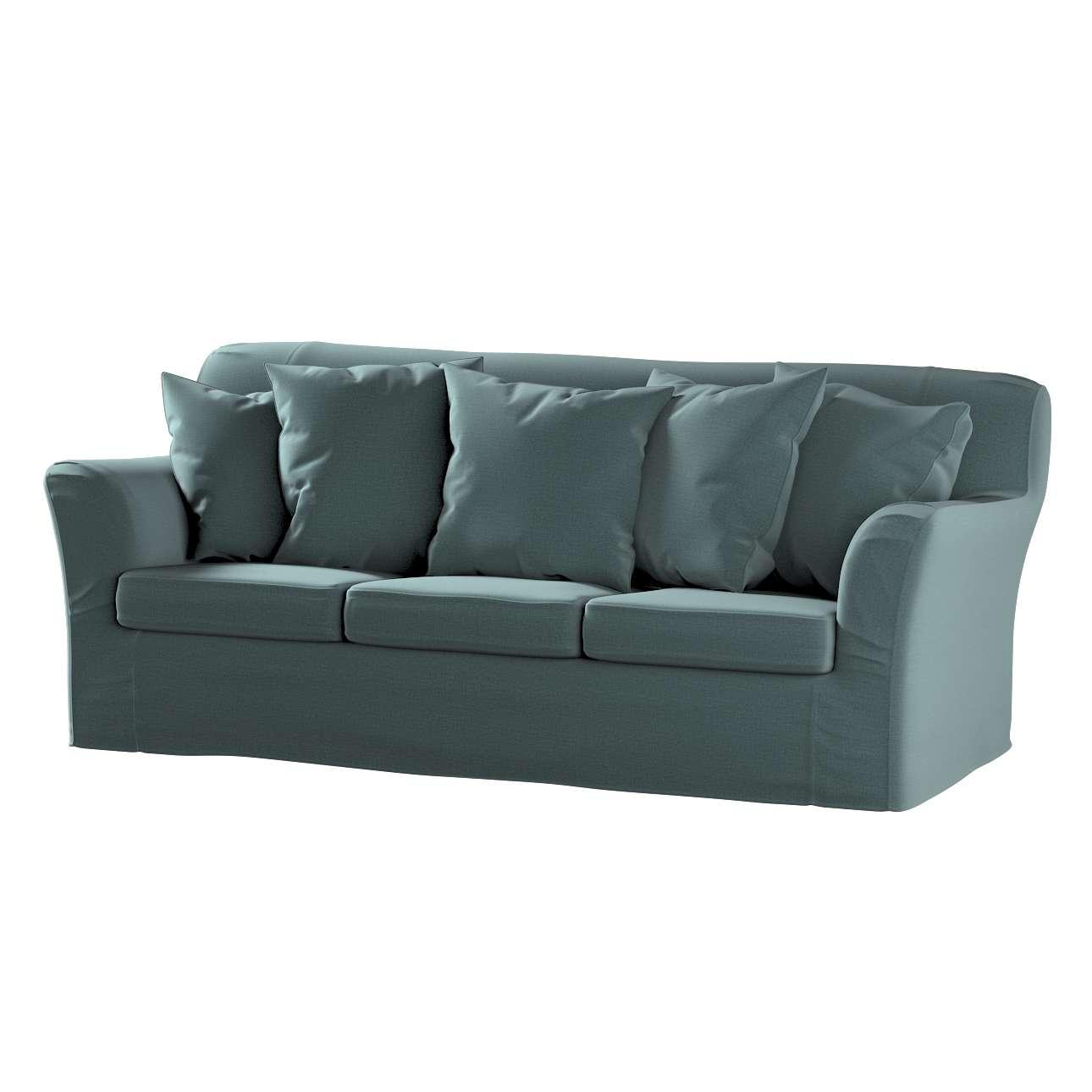 Pokrowiec na sofę Tomelilla 3-osobową nierozkładaną w kolekcji Ingrid, tkanina: 705-36