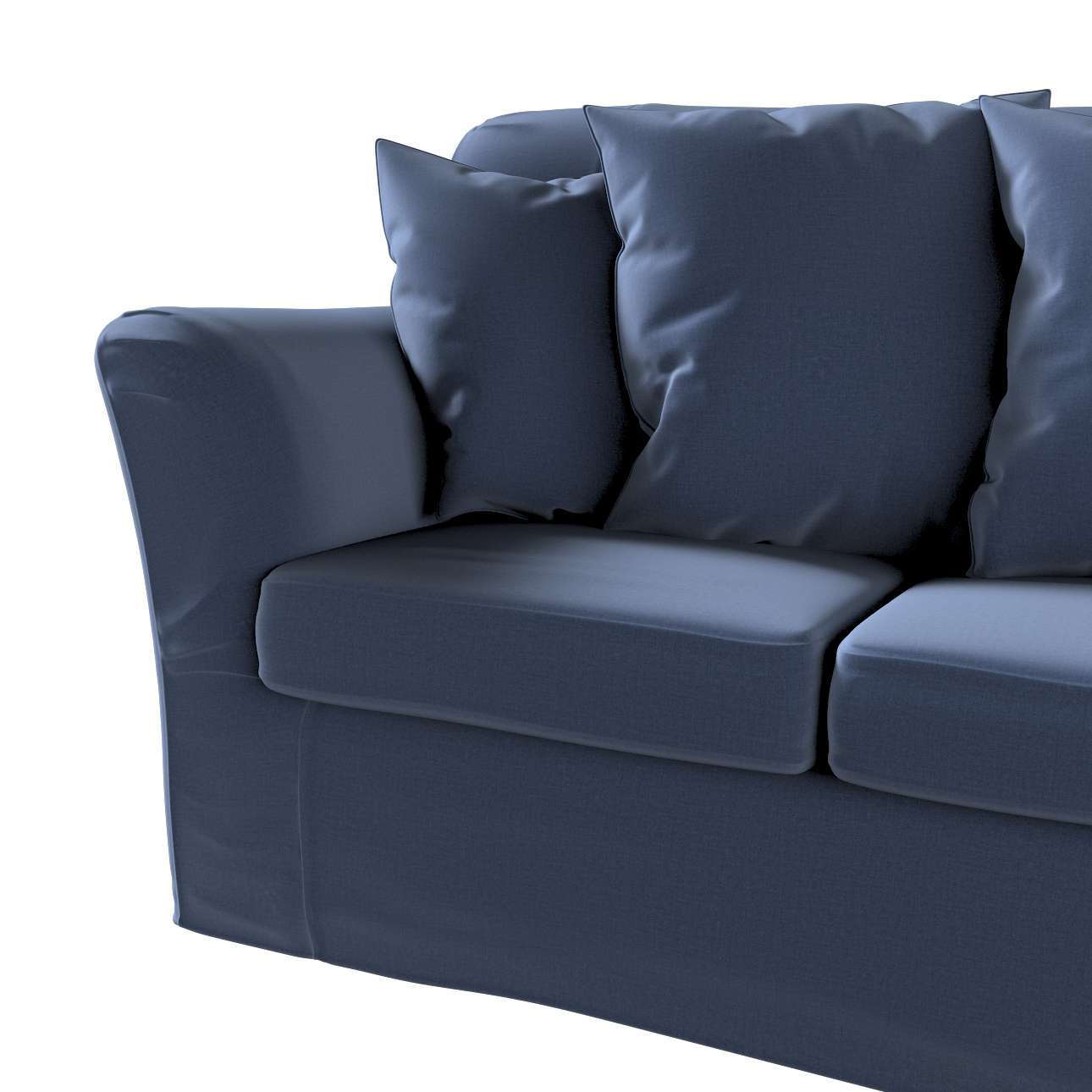 Pokrowiec na sofę Tomelilla 3-osobową nierozkładaną w kolekcji Ingrid, tkanina: 705-39