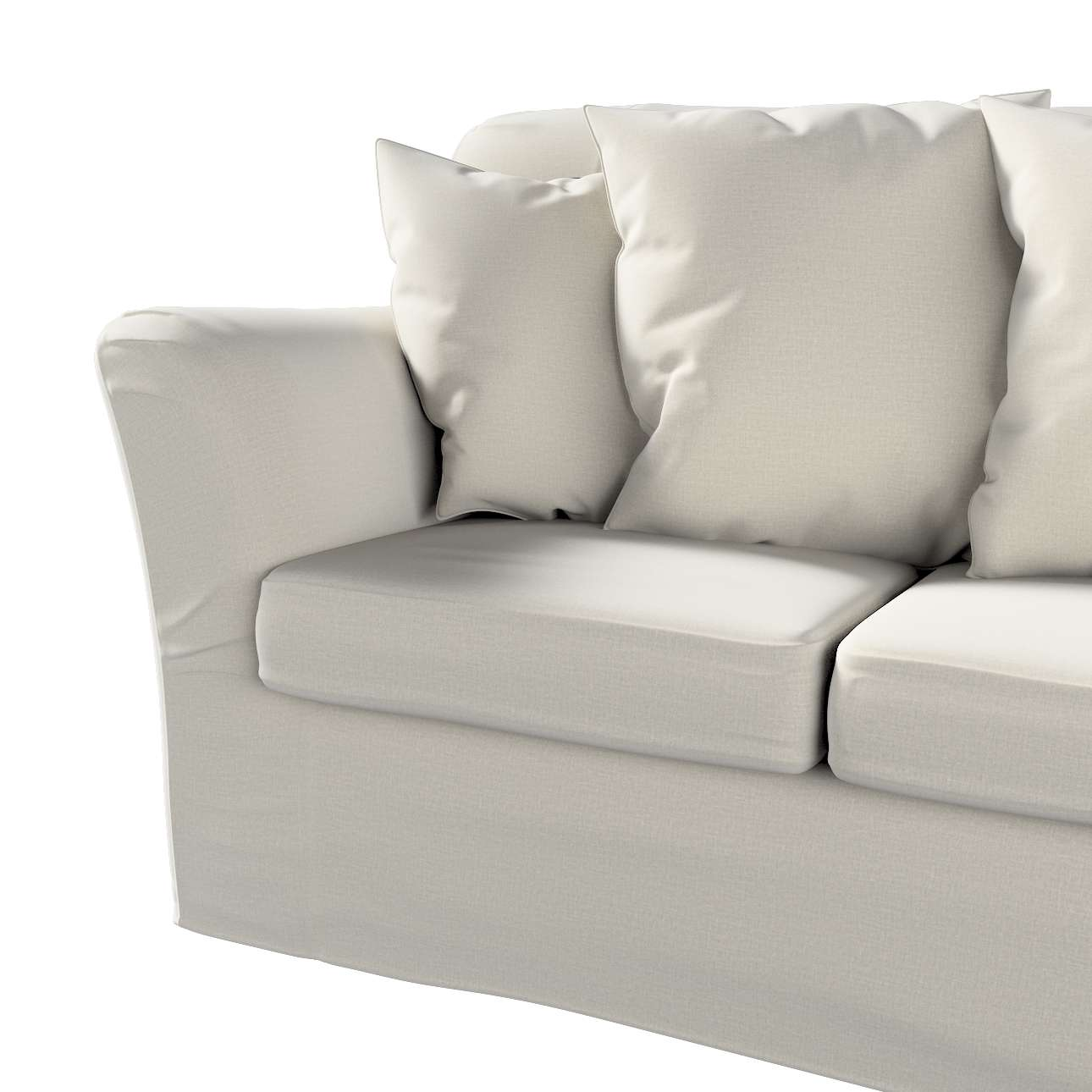 Pokrowiec na sofę Tomelilla 3-osobową nierozkładaną w kolekcji Ingrid, tkanina: 705-40