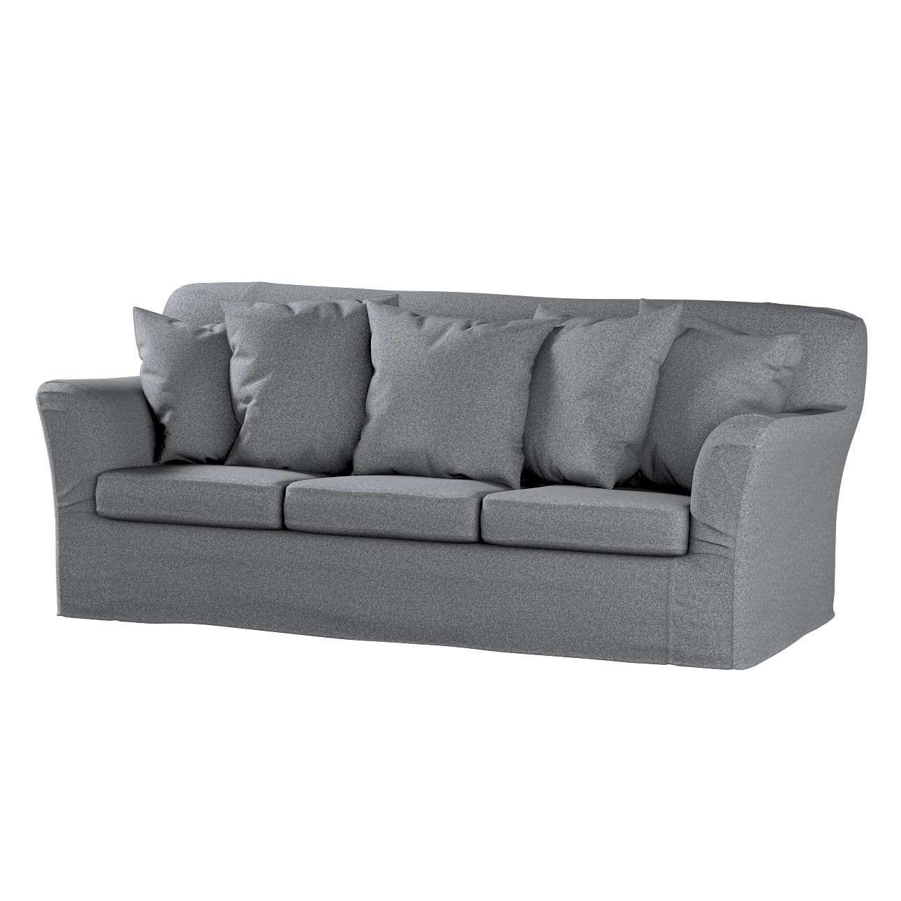 Pokrowiec na sofę Tomelilla 3-osobową nierozkładaną w kolekcji Amsterdam, tkanina: 704-47