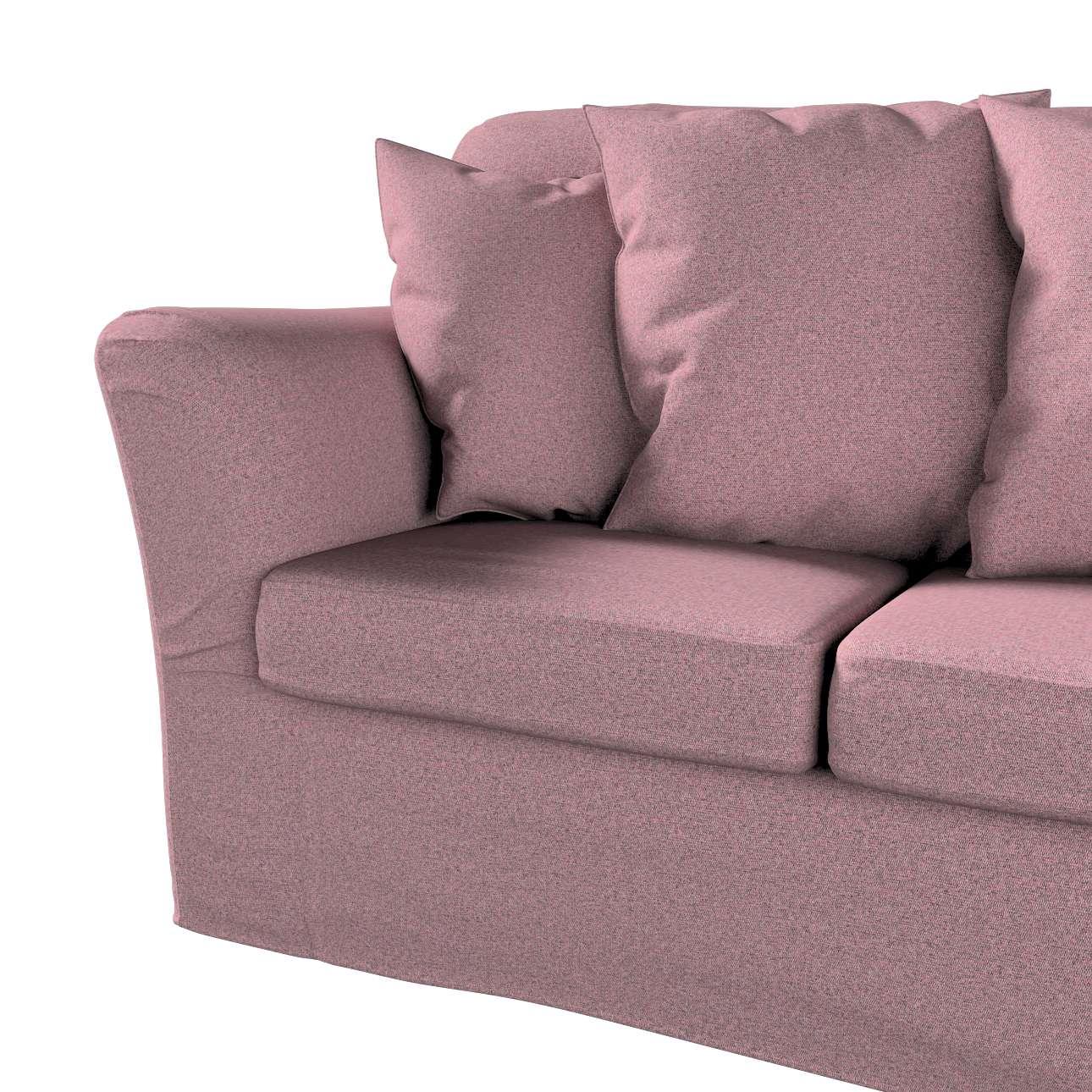 Pokrowiec na sofę Tomelilla 3-osobową nierozkładaną w kolekcji Amsterdam, tkanina: 704-48