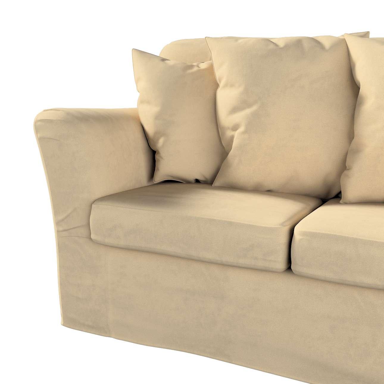 Pokrowiec na sofę Tomelilla 3-osobową nierozkładaną w kolekcji Living II, tkanina: 160-82