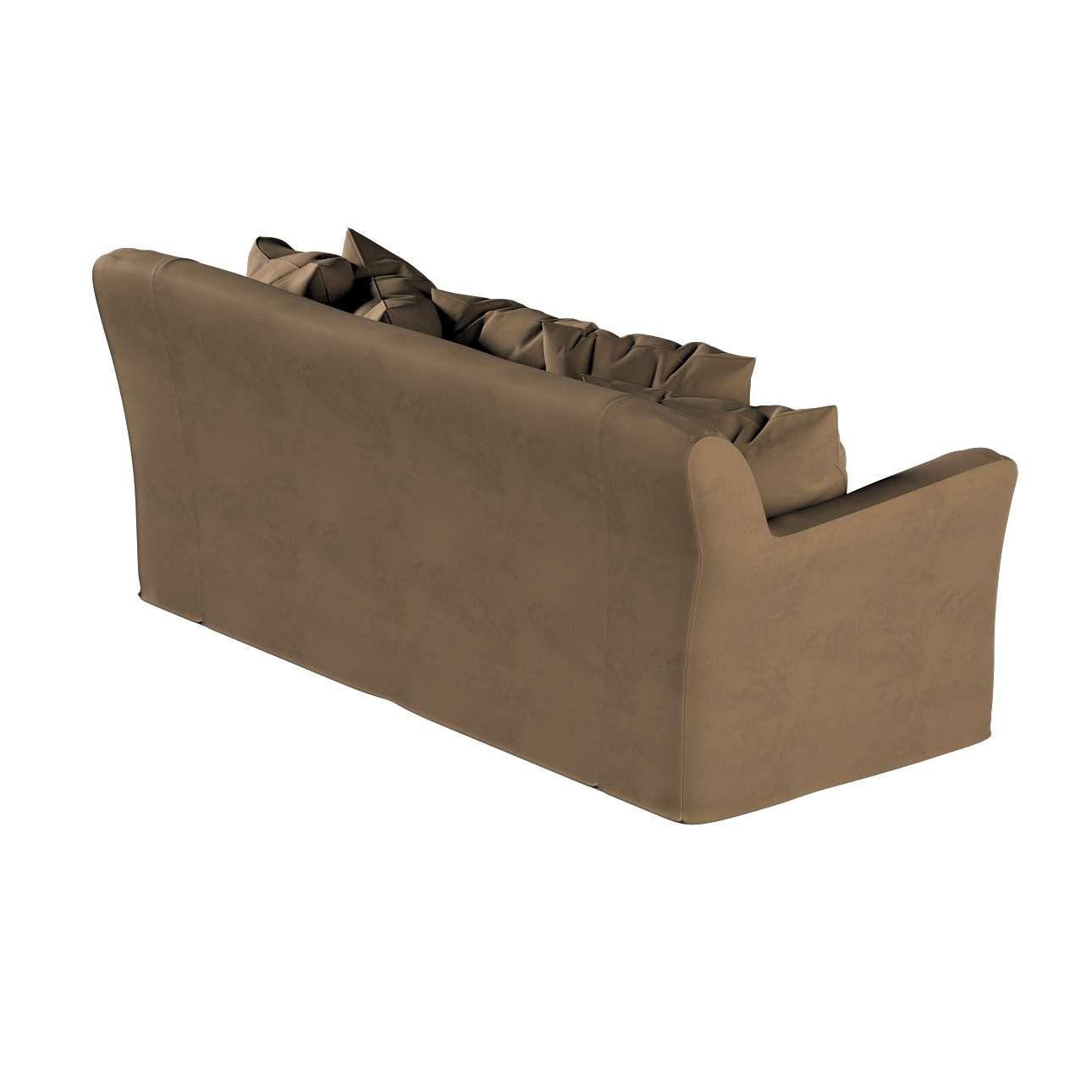 Pokrowiec na sofę Tomelilla 3-osobową nierozkładaną w kolekcji Living, tkanina: 160-94