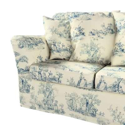 Pokrowiec na sofę Tomelilla 3-osobową nierozkładaną w kolekcji Avinon, tkanina: 132-66