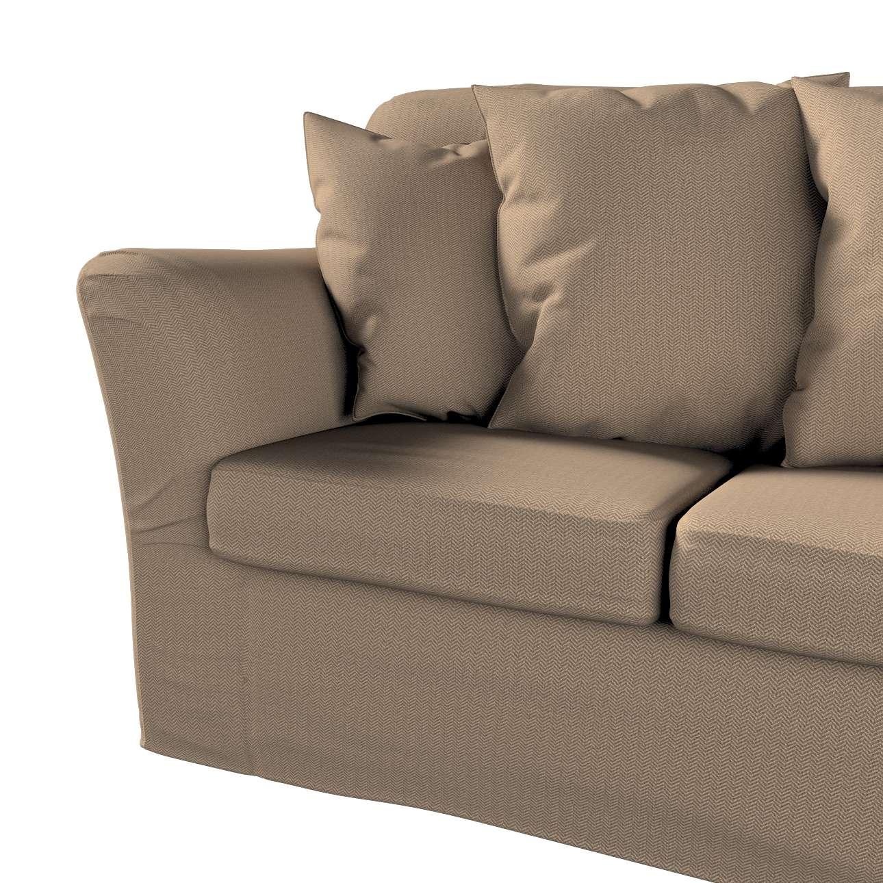 Pokrowiec na sofę Tomelilla 3-osobową nierozkładaną w kolekcji Bergen, tkanina: 161-85