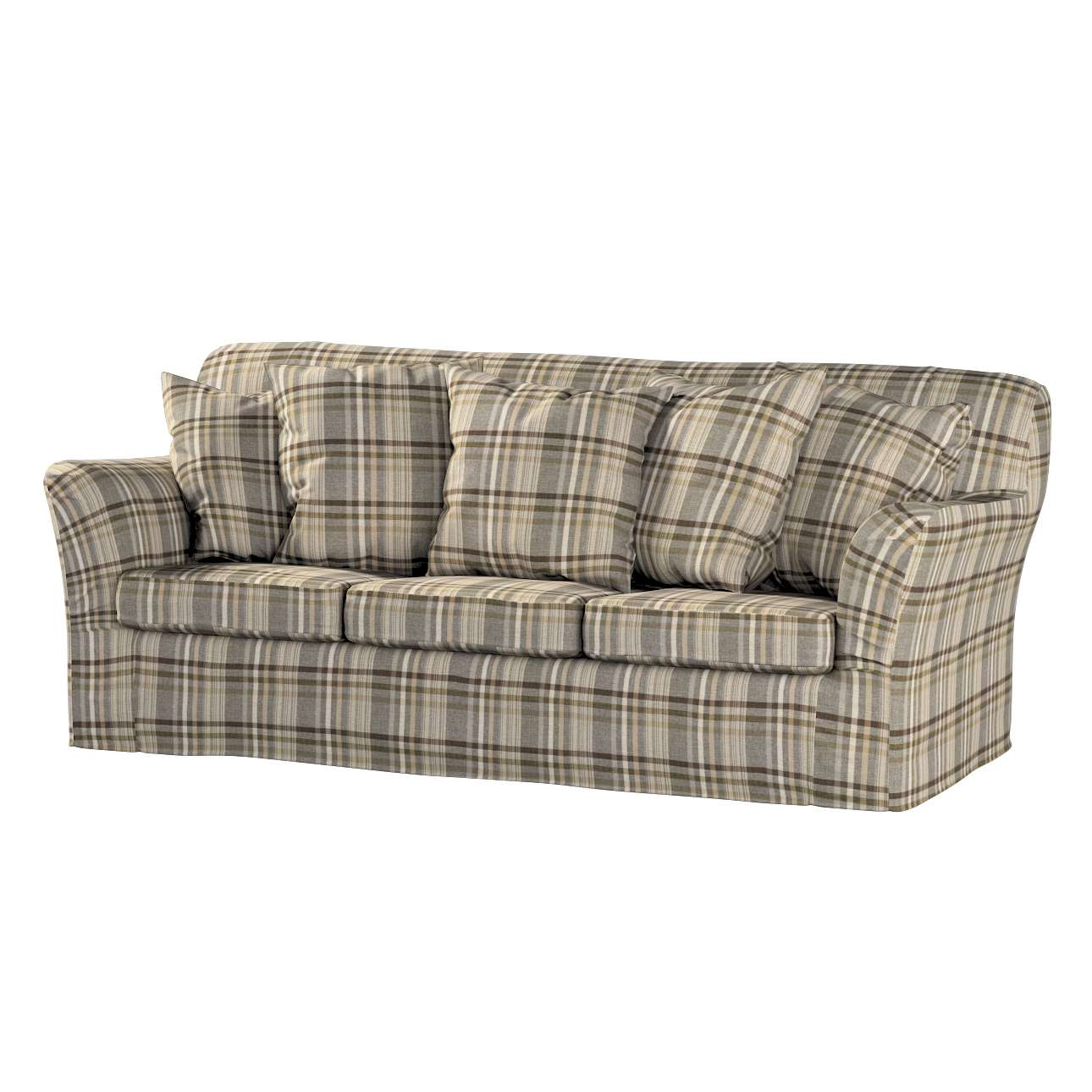 Pokrowiec na sofę Tomelilla 3-osobową nierozkładaną w kolekcji Edinburgh, tkanina: 703-17