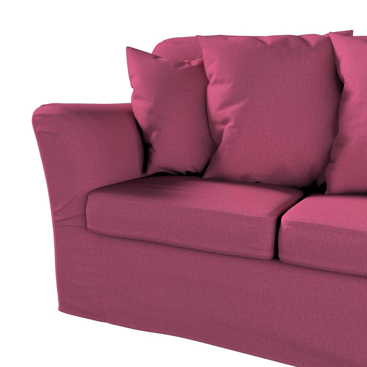 Pokrowiec na sofę Tomelilla 3-osobową nierozkładaną w kolekcji Living, tkanina: 160-44
