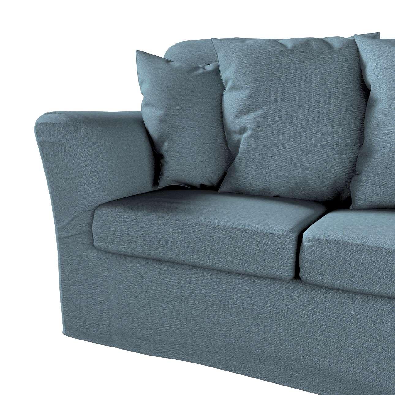 Pokrowiec na sofę Tomelilla 3-osobową nierozkładaną w kolekcji Madrid, tkanina: 161-90