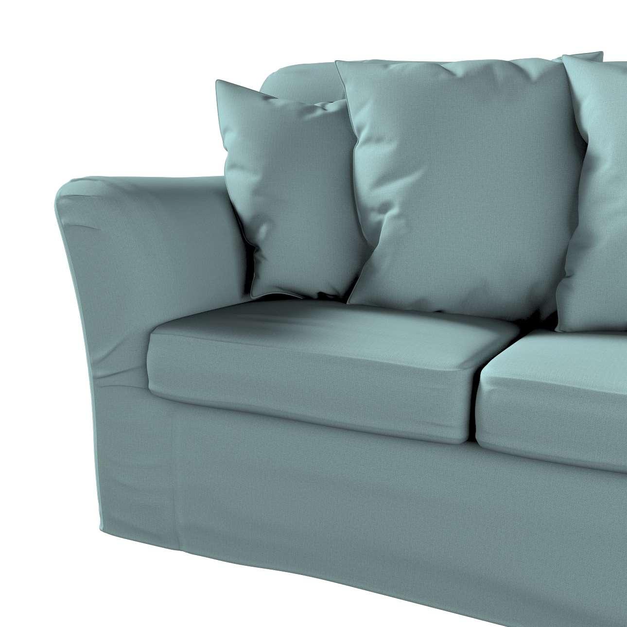 Pokrowiec na sofę Tomelilla 3-osobową nierozkładaną w kolekcji Cotton Panama, tkanina: 702-40