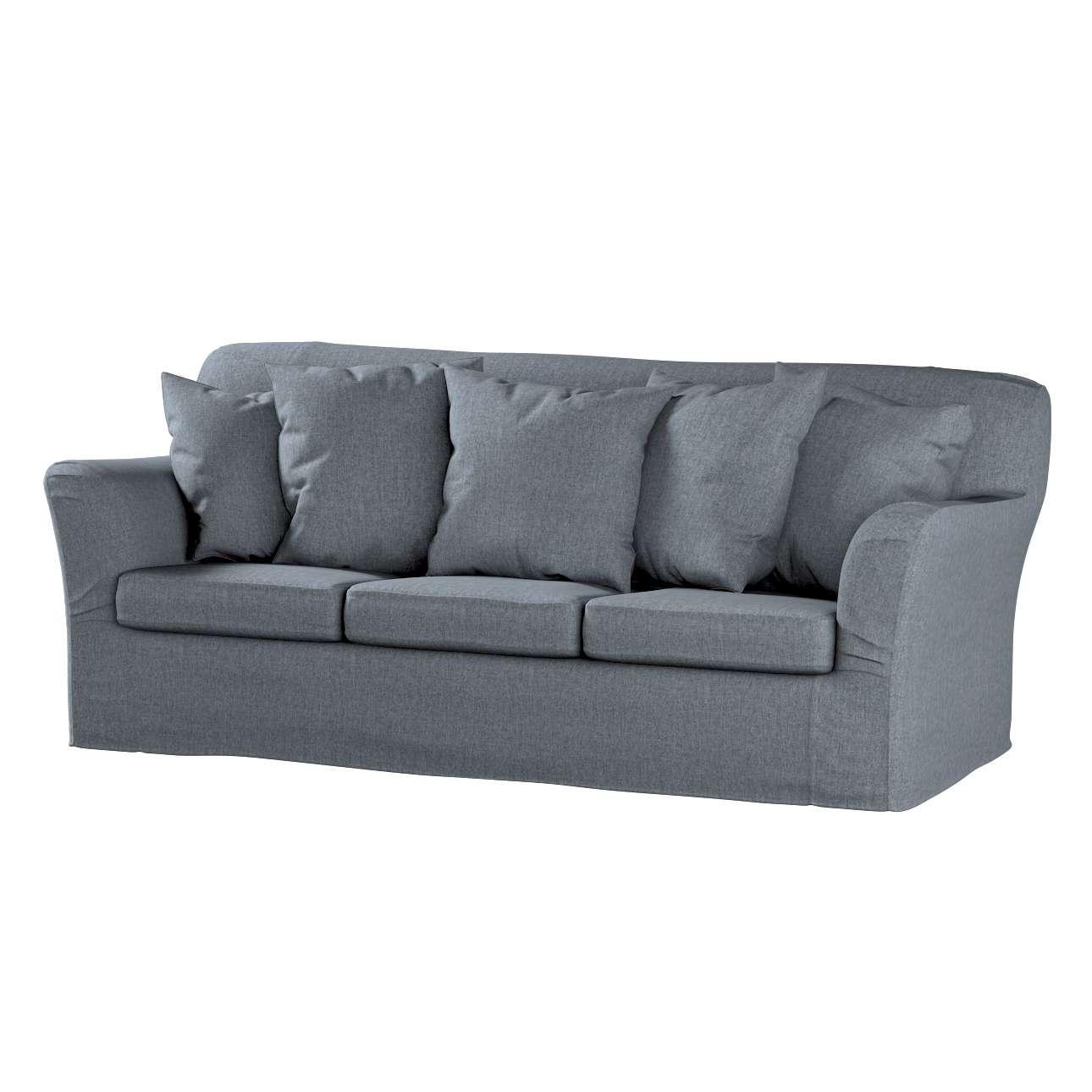 Pokrowiec na sofę Tomelilla 3-osobową nierozkładaną w kolekcji City, tkanina: 704-86