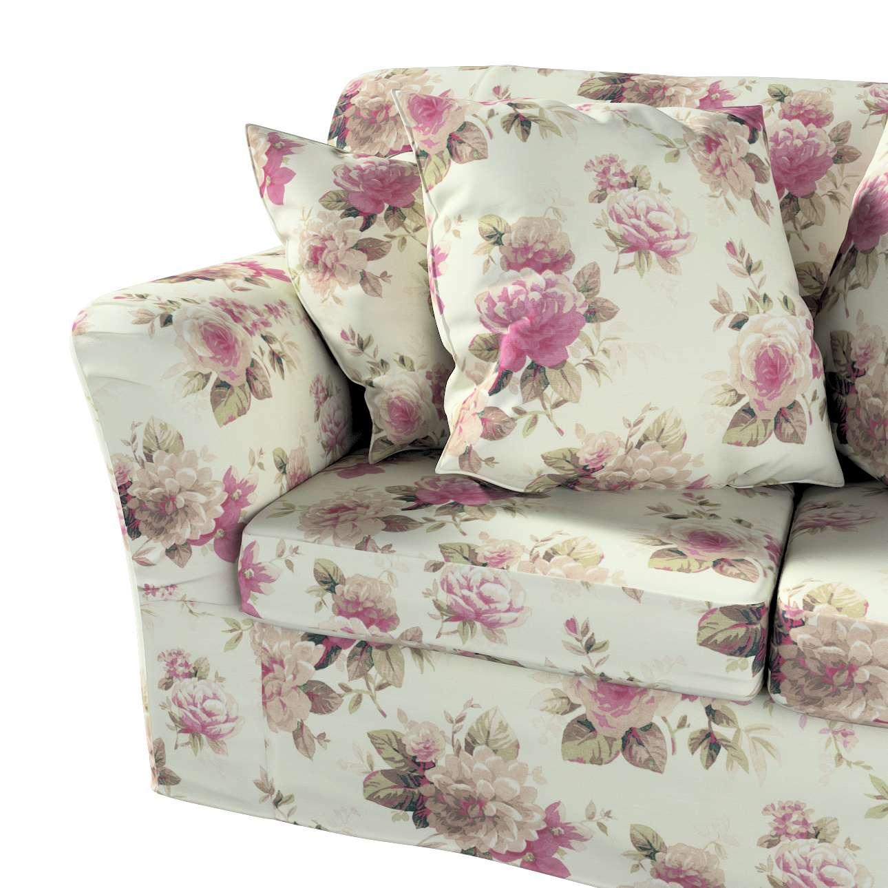 Pokrowiec na sofę Tomelilla 2-osobową nierozkładaną w kolekcji Londres, tkanina: 141-07