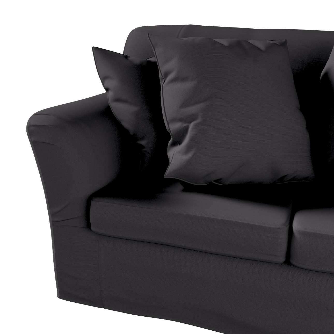 Pokrowiec na sofę Tomelilla 2-osobową nierozkładaną w kolekcji Cotton Panama, tkanina: 702-08