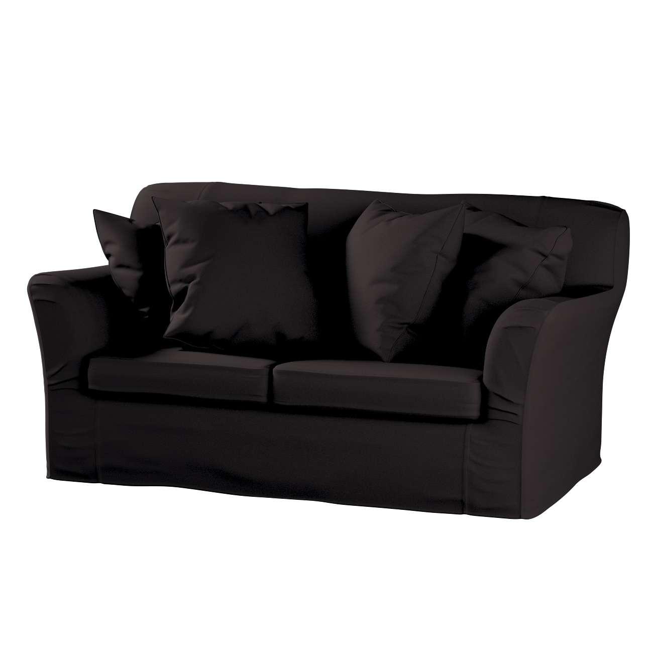 Tomelilla klädsel 2 sits soffa , Black (svart), 702 09, Tomelilla 2 sits soffa Dekoria