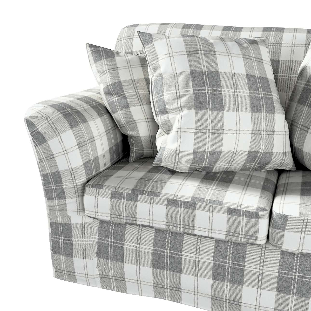 Pokrowiec na sofę Tomelilla 2-osobową nierozkładaną w kolekcji Edinburgh, tkanina: 115-79