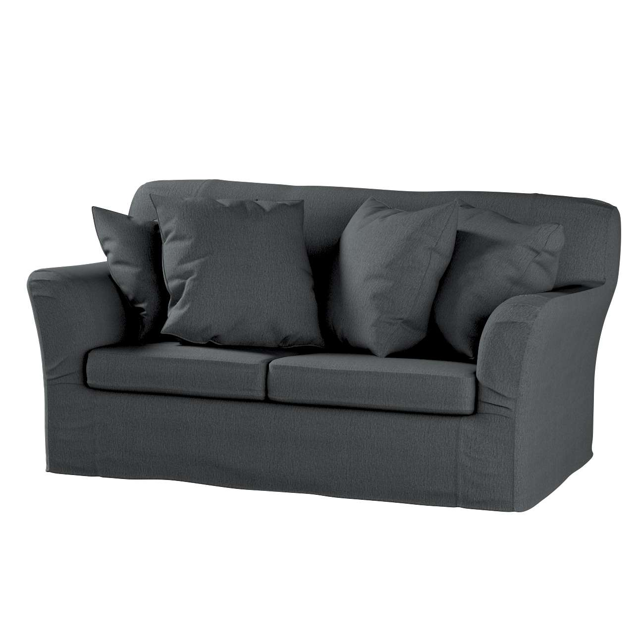 Pokrowiec na sofę Tomelilla 2-osobową nierozkładaną w kolekcji Chenille, tkanina: 702-20