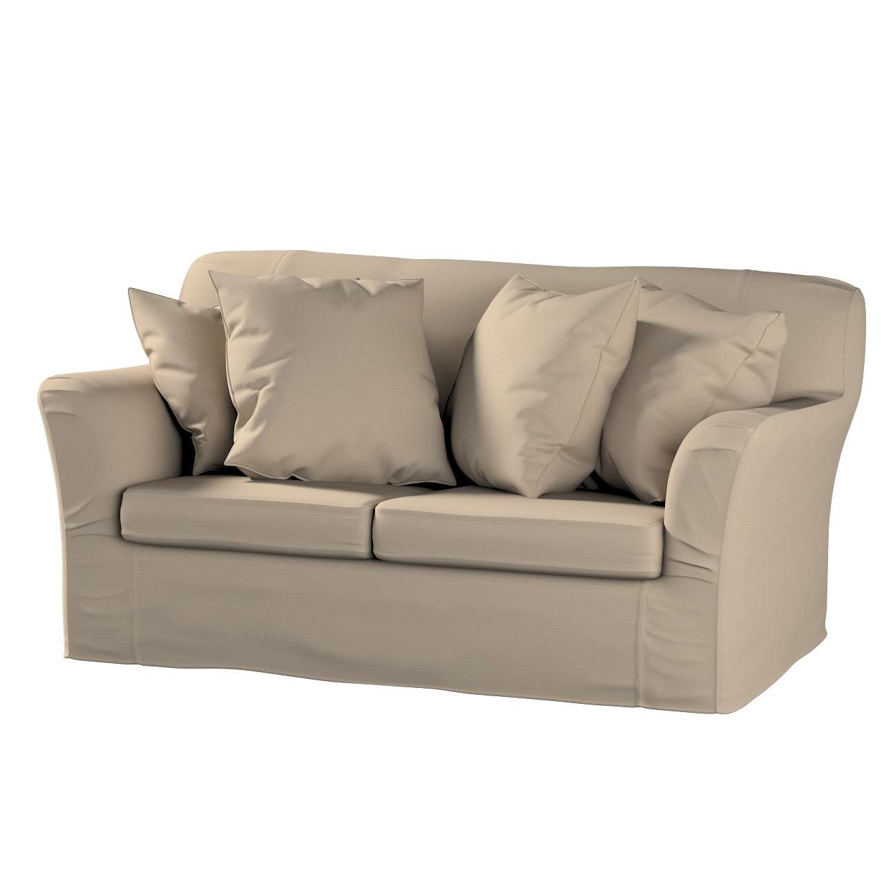 Pokrowiec na sofę Tomelilla 2-osobową nierozkładaną Sofa Tomelilla 2-osobowa w kolekcji Cotton Panama, tkanina: 702-28