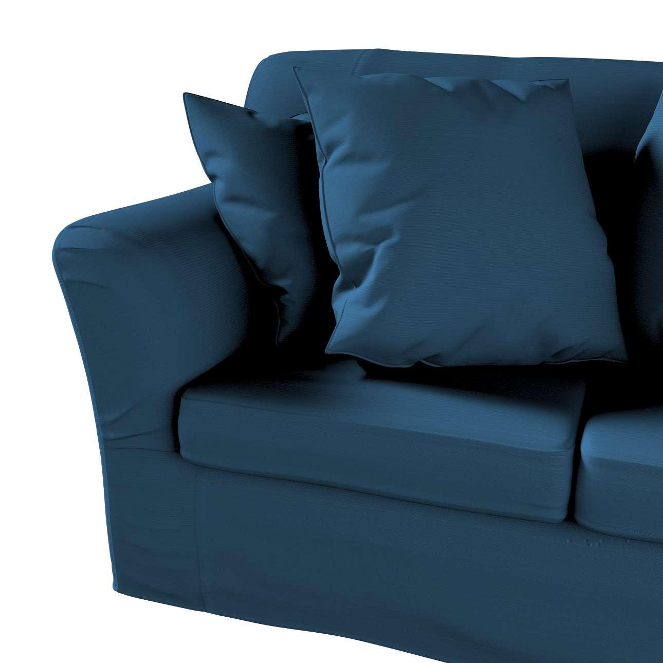Pokrowiec na sofę Tomelilla 2-osobową nierozkładaną w kolekcji Cotton Panama, tkanina: 702-30