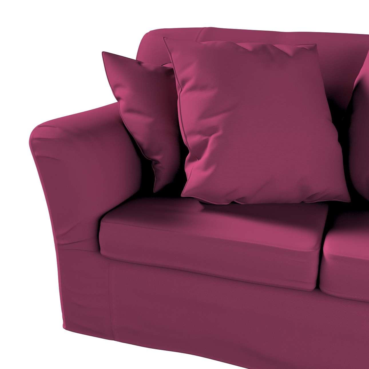 Pokrowiec na sofę Tomelilla 2-osobową nierozkładaną w kolekcji Cotton Panama, tkanina: 702-32