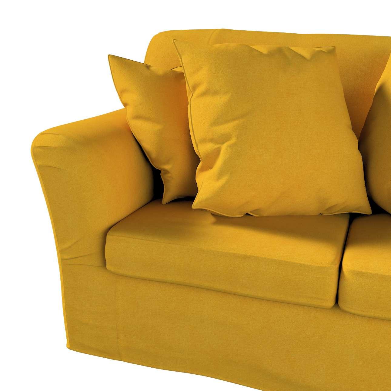 Pokrowiec na sofę Tomelilla 2-osobową nierozkładaną w kolekcji Etna, tkanina: 705-04
