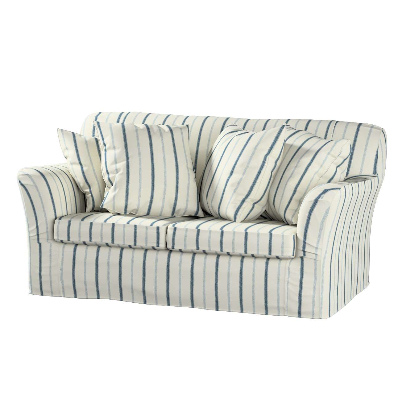 Tomelilla 2-Sitzer Sofabezug nicht ausklappbar Sofahusse, Tomelilla 2-Sitzer von der Kollektion Avinon, Stoff: 129-66