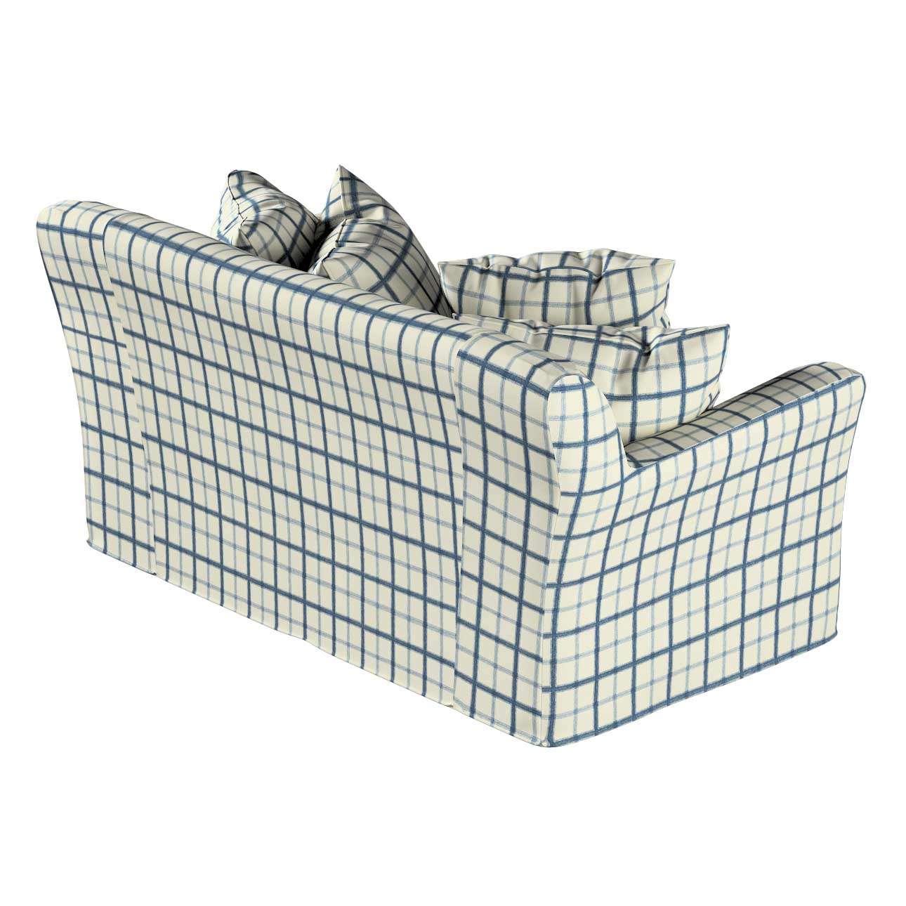 Pokrowiec na sofę Tomelilla 2-osobową nierozkładaną w kolekcji Avinon, tkanina: 131-66