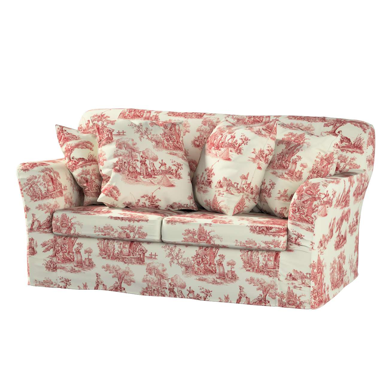 Pokrowiec na sofę Tomelilla 2-osobową nierozkładaną Sofa Tomelilla 2-osobowa w kolekcji Avinon, tkanina: 132-15