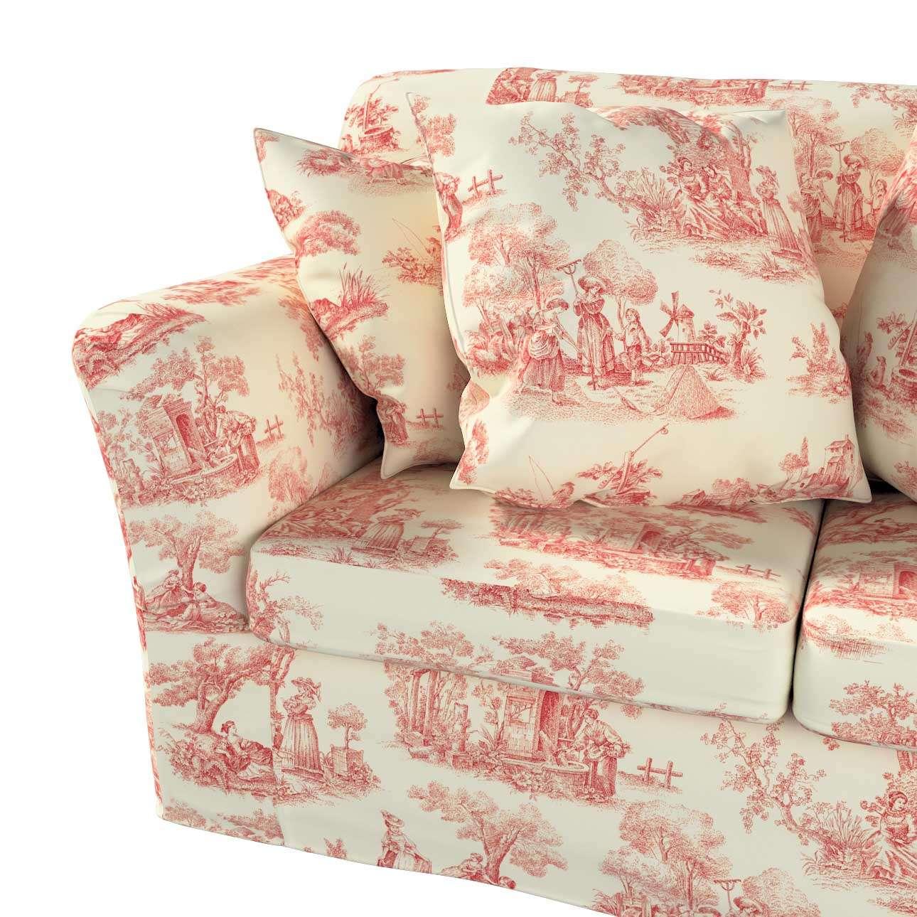 Pokrowiec na sofę Tomelilla 2-osobową nierozkładaną w kolekcji Avinon, tkanina: 132-15