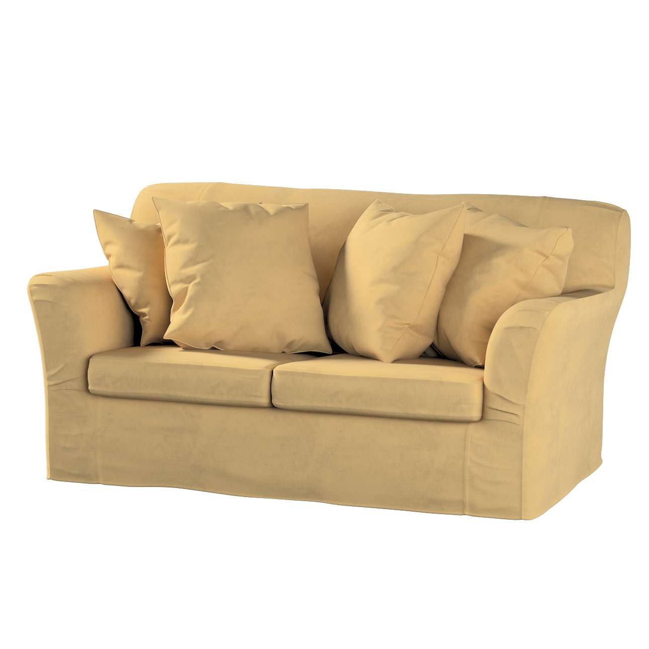 Pokrowiec na sofę Tomelilla 2-osobową nierozkładaną w kolekcji Living II, tkanina: 160-93